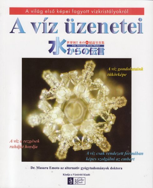 Víz üzenetei könyv + DVD