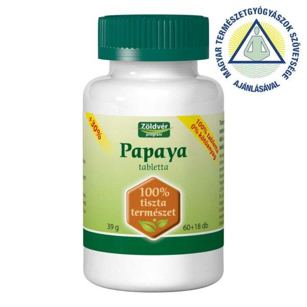 Papaya 100% tabletta (78 db)