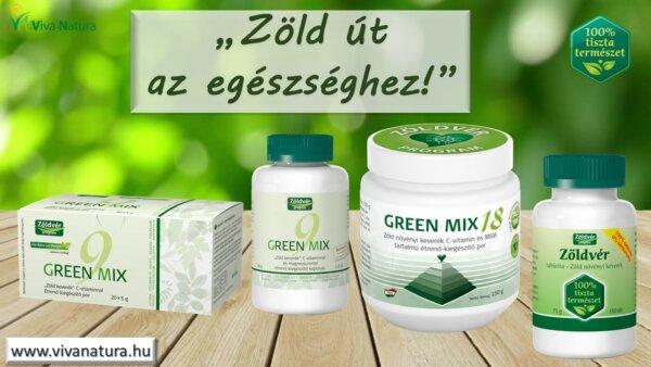 Green Mix 18 étrend-kiegészítő por* (150 g)