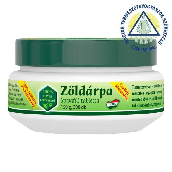 Zöldárpa 100% CSALÁDI tabletta (300 db)