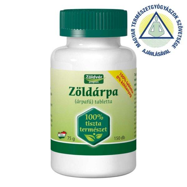 Zöldárpa 100% tabletta (150 db)