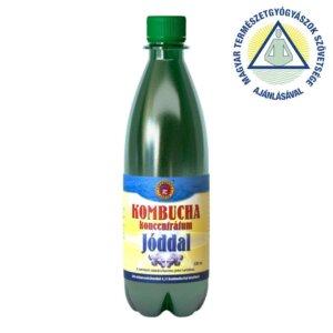 Kombucha koncentrátum JÓDDAL (500 ml)