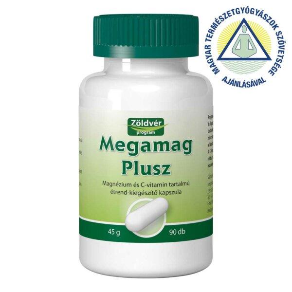 MegaMag Plusz étrend-kiegészítő kapszula (90 db)