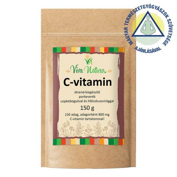 C-vitamin étrend-kiegészítő por (150 g)