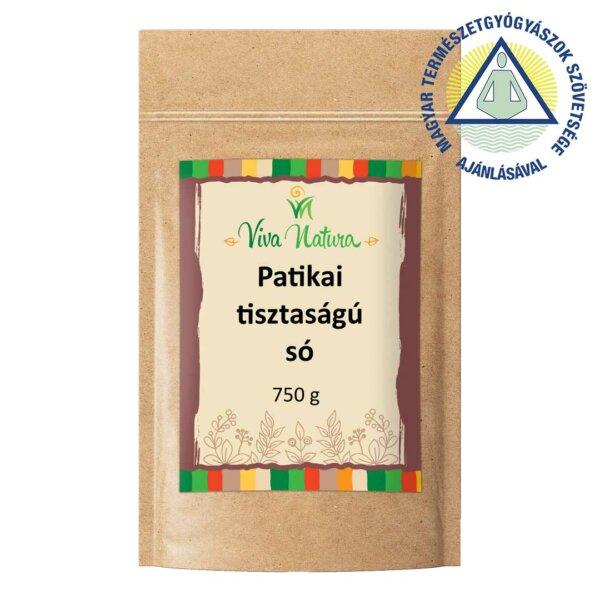 Patikai tisztaságú só (750 g)