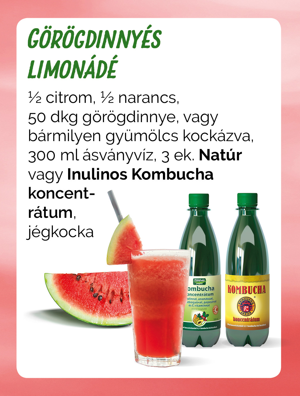 Görögdinnés limonádé