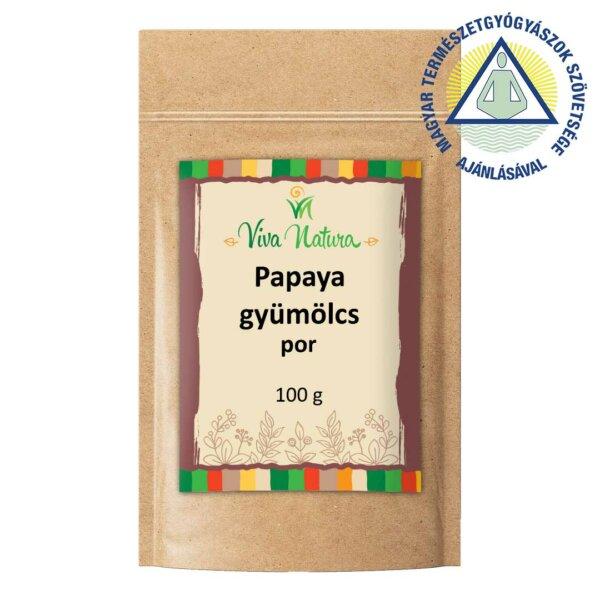 Papaya gyümölcs por (100 g)