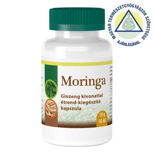 Moringa ginzeng kivonattal étrend-kiegészítő kapszula (60 db)