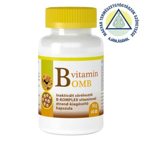 B-Bomb B-vitamin komplex étrend-kiegészítő kapszula (60 db)