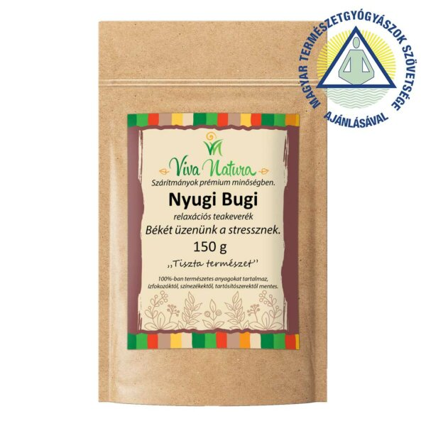 Nyugi Bugi kézműves teakeverék (150 g)