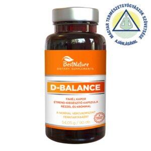 BestNature D-Balance étrend-kiegészítő kapszula (90 db)