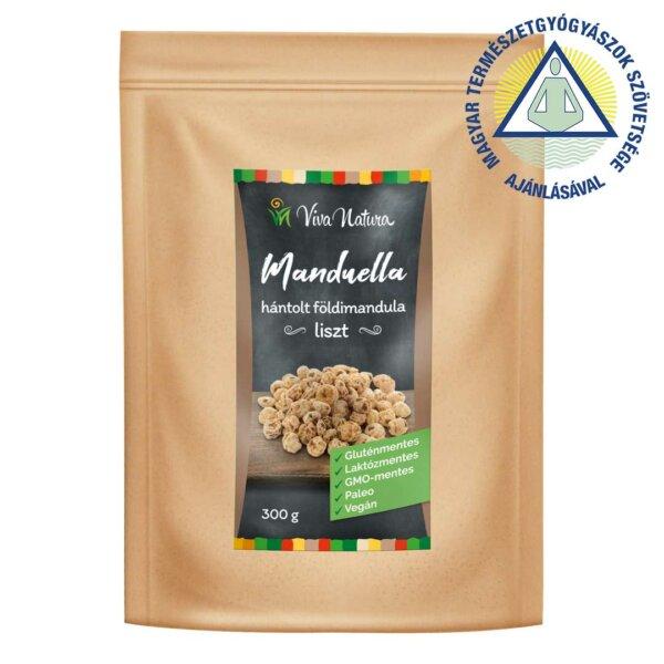 Manduella hántolt földimandula liszt (300 g)