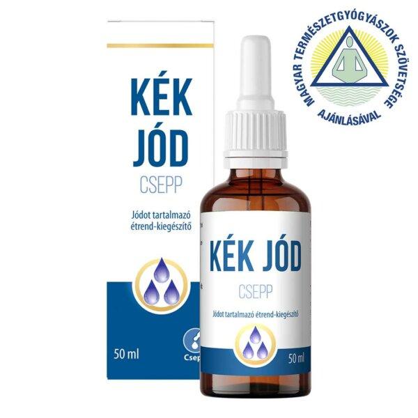 Kék Jód csepp jódot tartalmazó étrend-kiegészítő (50 ml)