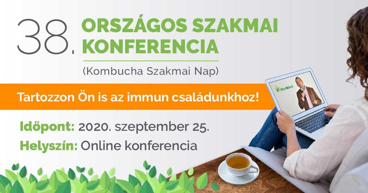 38. Országos szakmai konferencia - Kombucha szakmai nap