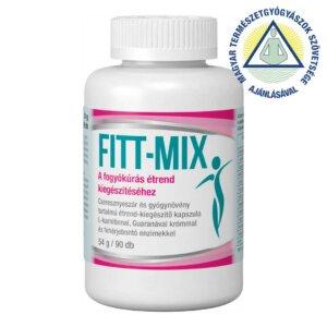 Fitt-Mix étrend-kiegészítő kapszula (90 db)